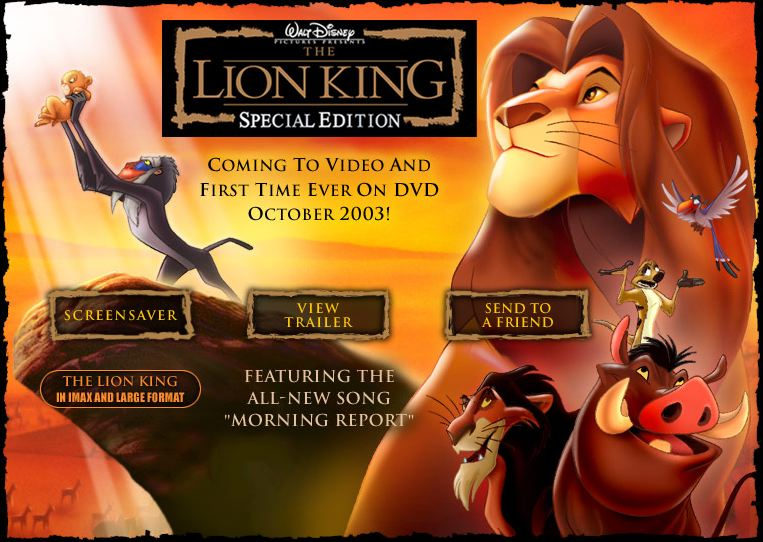 the lion king  archive  tlk news and direct