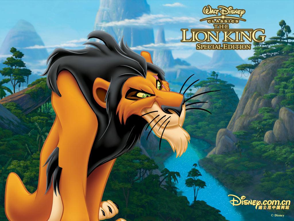 Scar - Lion king wallpaper ...